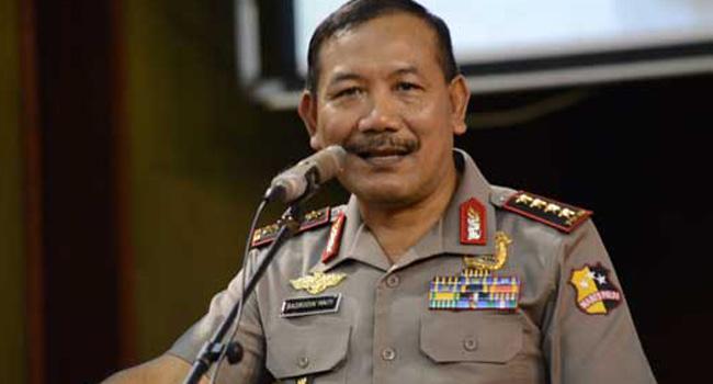 Kunker Kapolri Ke Lampung Bahas PPA dengan Polwan