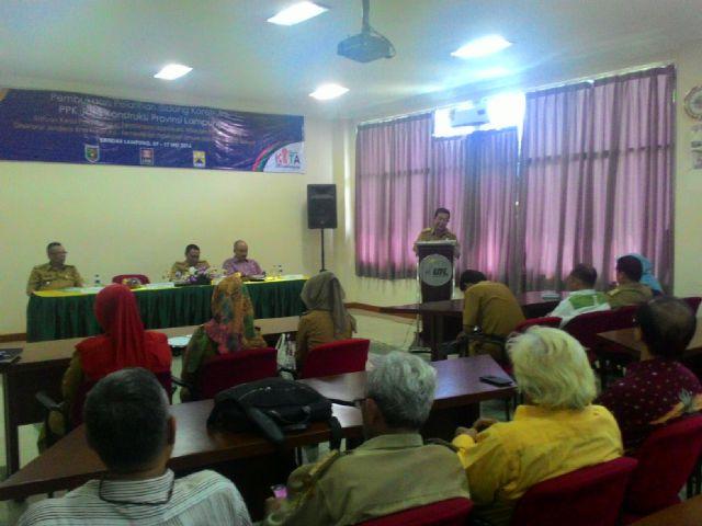 Pemprov Konsultasikan Pengadaan 65 Ribu hektar Tanah untuk Bendungan Way Sekampung