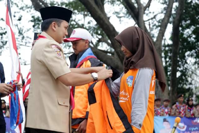Gubernur Lampung Lepas Kontingen Jambore Tingkat Nasional