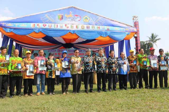 Pembangunan Provinsi Lampung Terbaik ke-2 di Pulau Sumatera