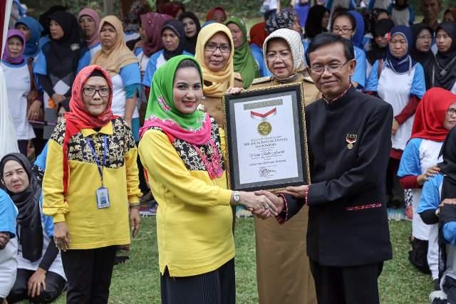 Sulam Usus Lampung Masuk Museum Rekor Indonesia