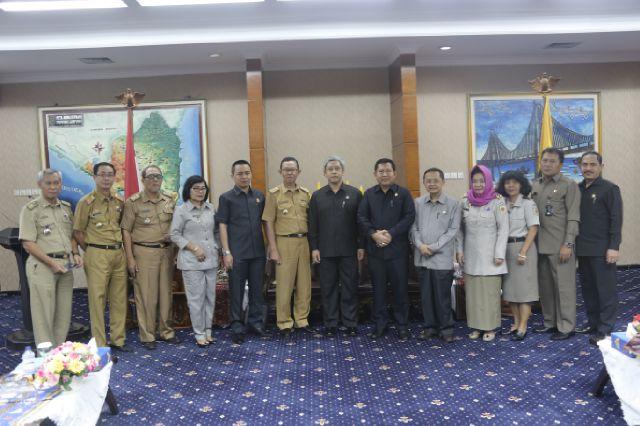 Pemprov Lampung Ketemu Lemhanas Bahas Pemberantasan Korupsi