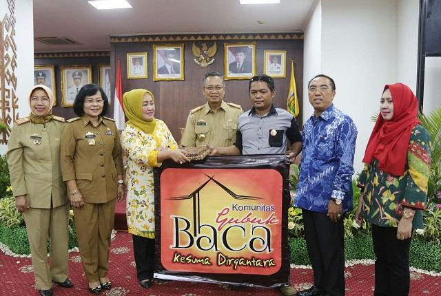 Pemprov Lampung Terus Tingkatkan Minat Baca, Melalui Safari Gemar Membaca