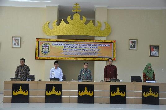 Pemprov Lampung Bersama Kota Bandar Lampung Wujudkan Kesinambungan 9 Agenda Prioritas (Nawa Cita)