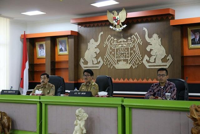 Gubernur Lampung Menghimbau Tingkatkan Kinerja Secara Optimal