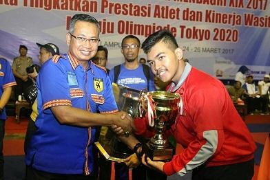 Penutupan kejuaraan nasional karate