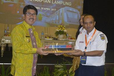 Pemprov Lampung Bekerjasama Dengan KAI Wujudkan Percepatan Perkeretaapian Lampung