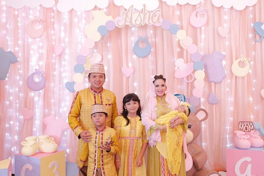 Gubernur Lampung Melangsungkan Aqiqahan Putri Ke 3 nya Bersama Puluhan Tokoh Masyarakat Dan Toko Adat Lampung