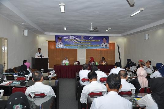Pemprov Lampung Gelar Rapat Koordinasi Dinas Perpustakaan dan Kearsipan Dengan Pemerintah Pusat