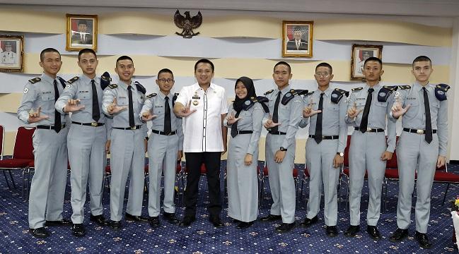 Siswa-Siswi SMA Taruna Krida Nusantara Kagum Kepada Sosok Gub Lampung, Sebagai Pemimpin Muda