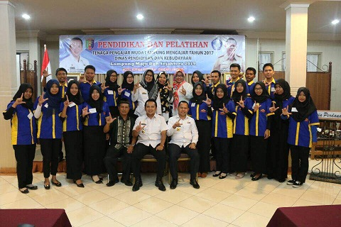 Gubernur Lampung Lepas 120 Peserta Lampung Mengajar