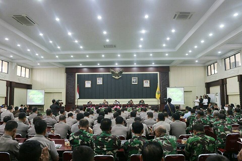 Gubernur Ridho Ajak Aparat Keamanan Jadikan Lampung Primadona Investasi Indonesia