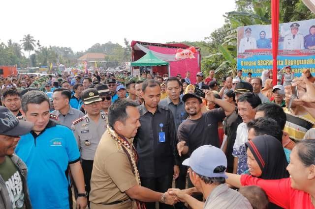 Gubernur Lampung Bantu 2.640 Desa dan Kelurahan Masing-Masing Rp6 Juta