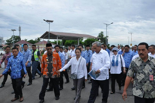 Pembayaran Lahan Jalan Tol Trans Sumatera Ditargetkan Selesai Juli 2017
