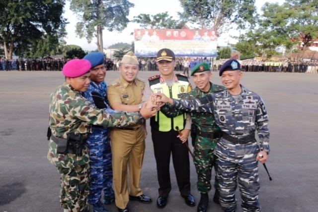 Gubernur Ridho Pimpin Apel Pasukan, Lampung Siap Hadapi Arus Mudik