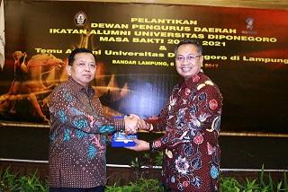 Pemprov Lampung Ajak Alumni Universitas Diponegoro Ciptakan SDM Unggul