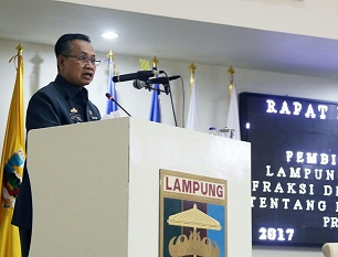 Pemprov Lampung Ajukan Penyertaan Modal PT Wahana Rahardja Rp25 Miliar