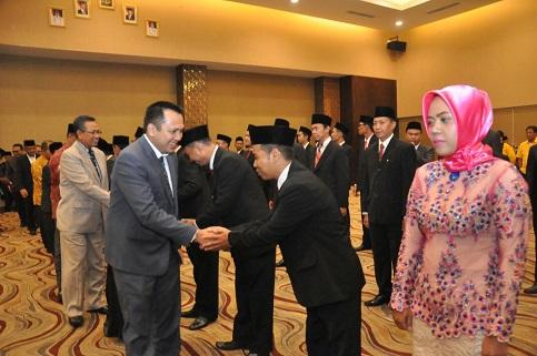 Selamat! 15 Panwaslu se-Lampung Dilantik