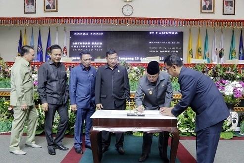 IPM dan Pertumbuhan PAD TA 2017 Provinsi Lampung Diprediksi Naik